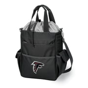 "Picnic Time® NFL Licensed Activo ""Atlanta Falcons"" Digital Print Polyester Cooler Tote, Black"