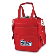 "Picnic Time® NFL Licensed Activo ""New England Patriots"" Digital Print Polyester Cooler Tote, Red"