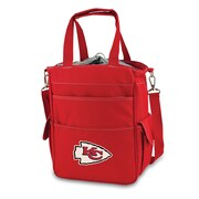 "Picnic Time® NFL Licensed Activo ""Kansas City Chiefs"" Digital Print Polyester Cooler Tote, Red"