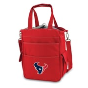 "Picnic Time® NFL Licensed Activo ""Houston Texans"" Digital Print Polyester Cooler Tote, Red"