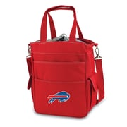"Picnic Time® NFL Licensed Activo ""Buffalo Bills"" Digital Print Polyester Cooler Tote, Red"