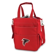 "Picnic Time® NFL Licensed Activo ""Atlanta Falcons"" Digital Print Polyester Cooler Tote, Red"