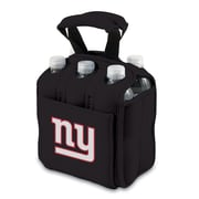 Picnic Time® NFL Licensed Six Pack New York Giants Digital Print Neoprene Cooler Tote, Black