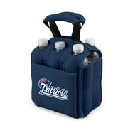 "Picnic Time® NFL Licensed Six Pack ""New England Patriots"" Digital Print Neoprene Cooler Tote, Navy"