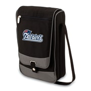 Picnic Time® NFL Licensed Barossa New England Patriots Digital Print Polyester Wine Tote, Black