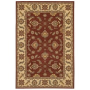 Karastan® Sierra Mar Sedona New Zealand Wool Rug, 5'6 x 8'3, Henna