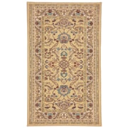 Karastan® Sierra Mar Ventana New Zealand Wool Rug, 3'3 x 5'6, Maize