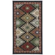 Karastan® Woolrich Bridlewood New Zealand Wool Rug, 2'5 x 4', Black