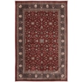 American Rug Craftsmen™ Dryden Barnsley Gardens Carmin Synthetic Rug, 5'3in. x 7'10in., Red