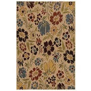 Mohawk® Montero Botanical Polypropylene Rug, 96 x 120, Heather