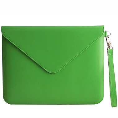 Paperthinks PT00090 Recycled Leather Folio Case for 11in. Apple iPad 2/3, Mint