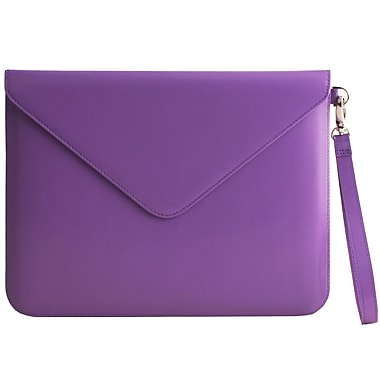 Paperthinks™ Recycled Leather Folio For iPad 2/3 and 11in. Tablets, Violet