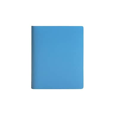 Paperthinks™ Rainbow Collection Extra Large Ruled Notebook, 17.8 x 22.8 cm, Blue Mist