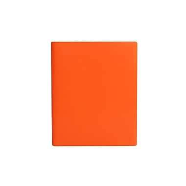 Paperthinks™ Rainbow Collection Extra Large Sketch Book, 17.8 x 22.8 cm, Tangerine Orange