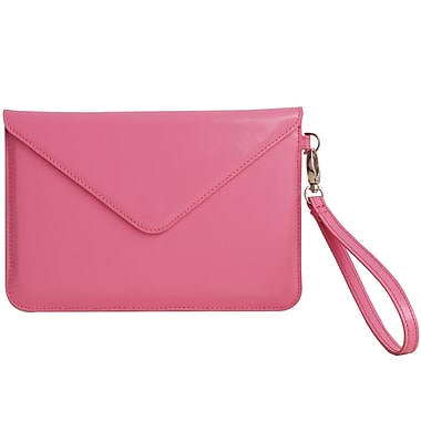 Paperthinks™ Recycled Leather Folio For iPad Mini and 7in. Tablets, Fuchsia