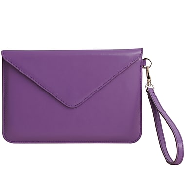 Paperthinks™ Recycled Leather Folio For iPad Mini and 7in. Tablets, Violet