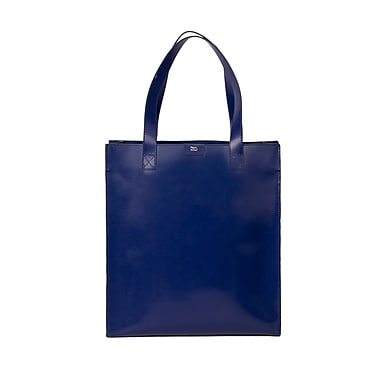 Paperthinks™ Classic Collection 13.7in. x 15.7in. x 4.7in. Long Tote Bag, Navy Blue