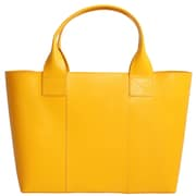 "Paperthinks™ Rainbow Collection 10"" x 15"" x 5"" Shopping Bag, Yellow Gold"