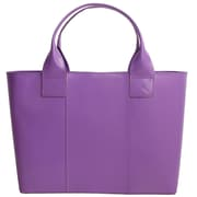 "Paperthinks™ Rainbow Collection 10"" x 15"" x 5"" Shopping Bag, Violet"