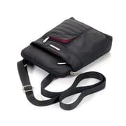Troika® iWALK Shoulder Bag With 5 Compartments, Black