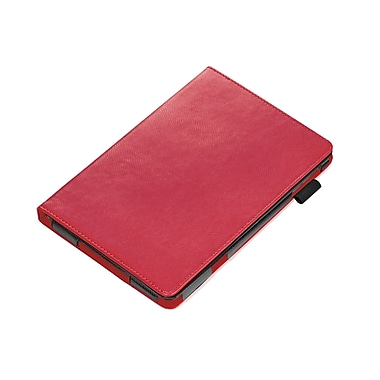 Troika® Mini Flip Case With Integrated Stand For iPad, Red
