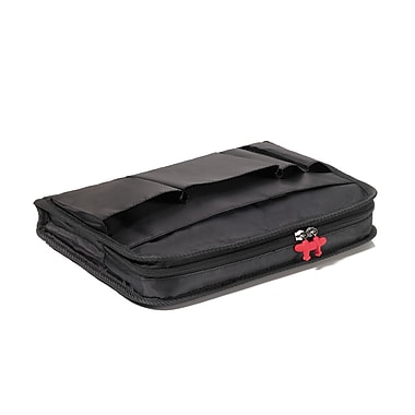 Troika IPC80BK Polyester Sleeve with Storage Pockets for Apple iPad 2, Black