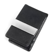 Troika® Wallet With Money Clip, Midnight Black