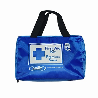 Shield Basic Regulation Standard First Aid Kit With Mask, British Columbia, Soft Pack