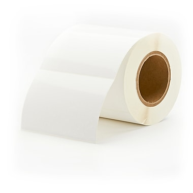 Primera TuffCoat Extreme 4in. x 6in. White Polyester Labels, High Gloss, 325/Roll