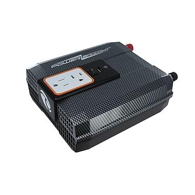 PowerBright - Convertisseur 12 V à onde sinusoïdale modifiée, puissance continue de 750 W