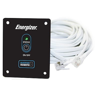 Energizer Power Inverter Remote, 20' Cable