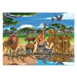 Melissa & Doug® On the Cardboard Savannah Jigsaw Puzzle, 300 Pieces