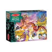 Melissa & Doug® Dragon Storm Cardboard Jigsaw Puzzle, 500 Pieces