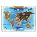 Melissa & Doug® World Map Cardboard Jigsaw Puzzle, 500 Pieces