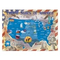 Melissa & Doug® Map of the United State Cardboard Jigsaw Puzzle, 500 Pieces