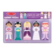 Melissa & Doug® Dress-Up Mix Match Stack Chunky Puzzle , 15 Pieces