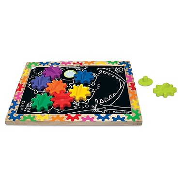 Melissa & Doug® Switch & Spin Magnetic Gear Board