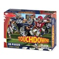Melissa & Doug® Touchdown Football Floor Puzzle, 48 Pieces
