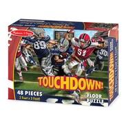 Melissa & Doug® Touchdown Football Floor Puzzle, 48 Pieces