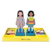 Melissa & Doug® Chloe & Zoe Magnetic Dress-Up Set