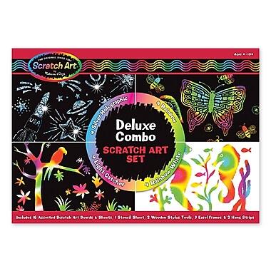 Melissa & Doug® Scratch Art® Deluxe Combo Set