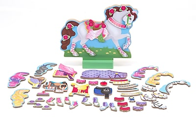 Melissa & Doug My Horse Clover Magnetic Dress-Up Set 918951