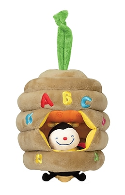Melissa & Doug Musical Pull Beehive Baby Toy 919424