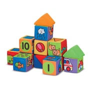 Melissa & Doug® Match & Build Soft Blocks