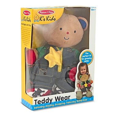 Melissa & Doug® Teddy Wear Toddler Learning Toy
