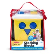 Melissa & Doug® Stacking Blocks Set Learning Toy