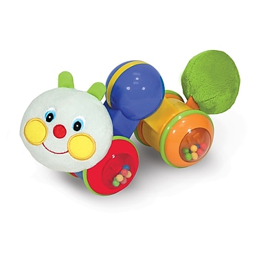 Melissa & Doug® Press & Go Inchworm Baby and Toddler Toy