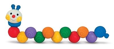 Melissa & Doug Build an Inchworm Pop Blocs Learning Toy 919406