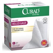 Medline® Curad® 5CT Prosorb Rolled Gauze, 4 x 90, 24/Box