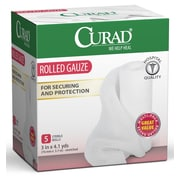 Medline® Curad® 5CT Prosorb Rolled Gauze, 3 x 90, 24/Box